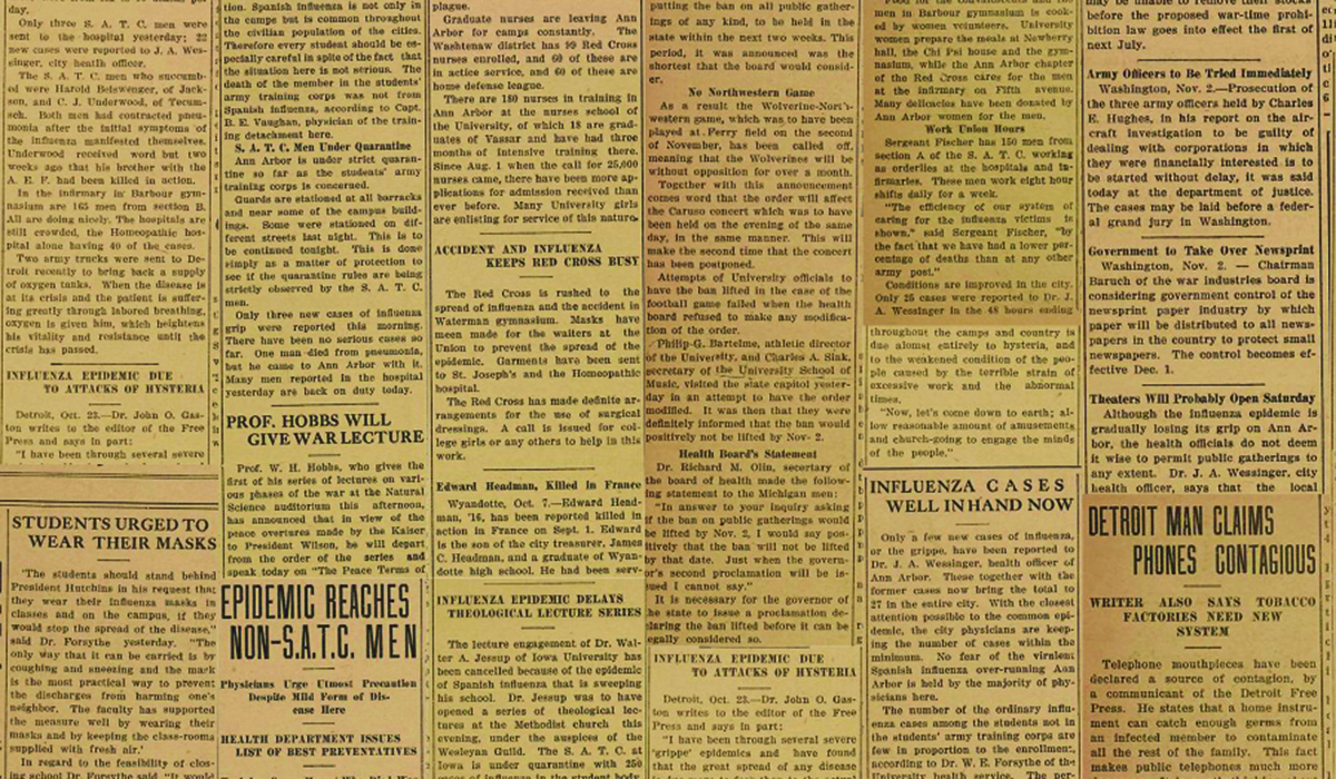 1918 Pandemic Feature
