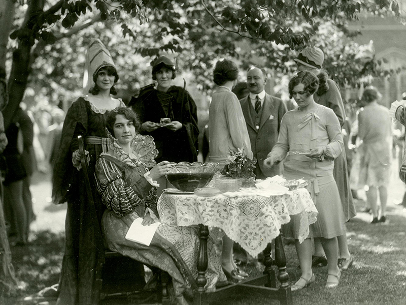 1928 Martha Cook May Day
