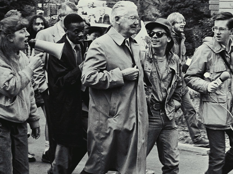 1988 Fleming Protest