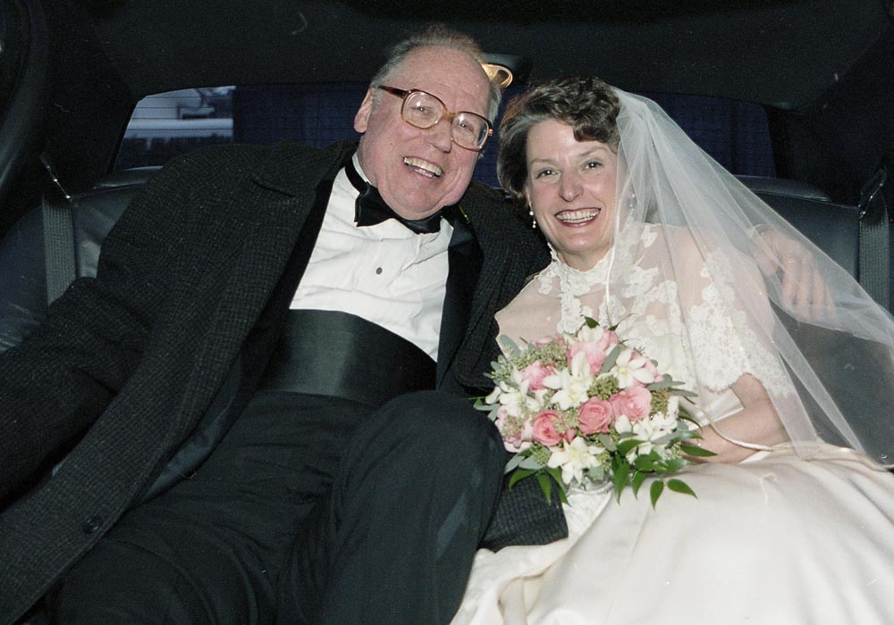 Anne Beaubien, MALS'70, and Phil Berry, '53, MBA'53