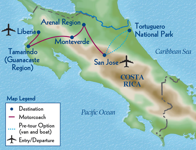 Costa Rica's Natural Heritage