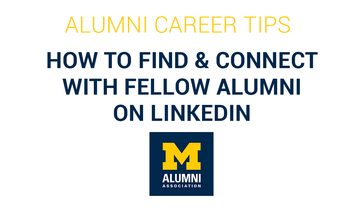 How to Find and Connect with Alumni on LinkedIn