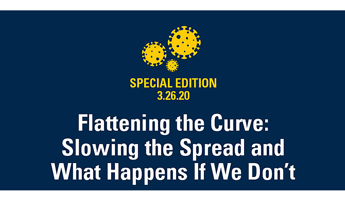 Flattening The Curve Slowing The Spread And What Happens If We Don't