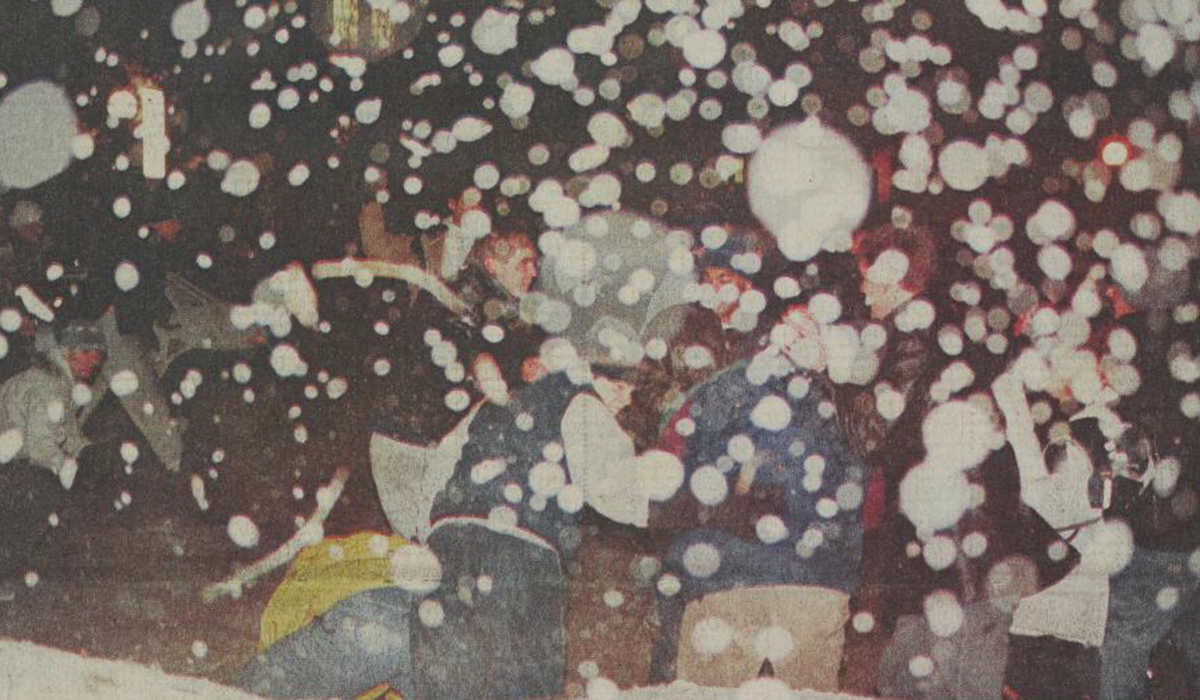 West South Snowball Fight