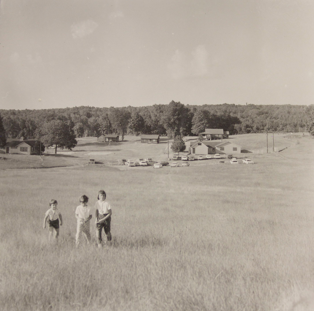 Historic photo of Camp Michigania