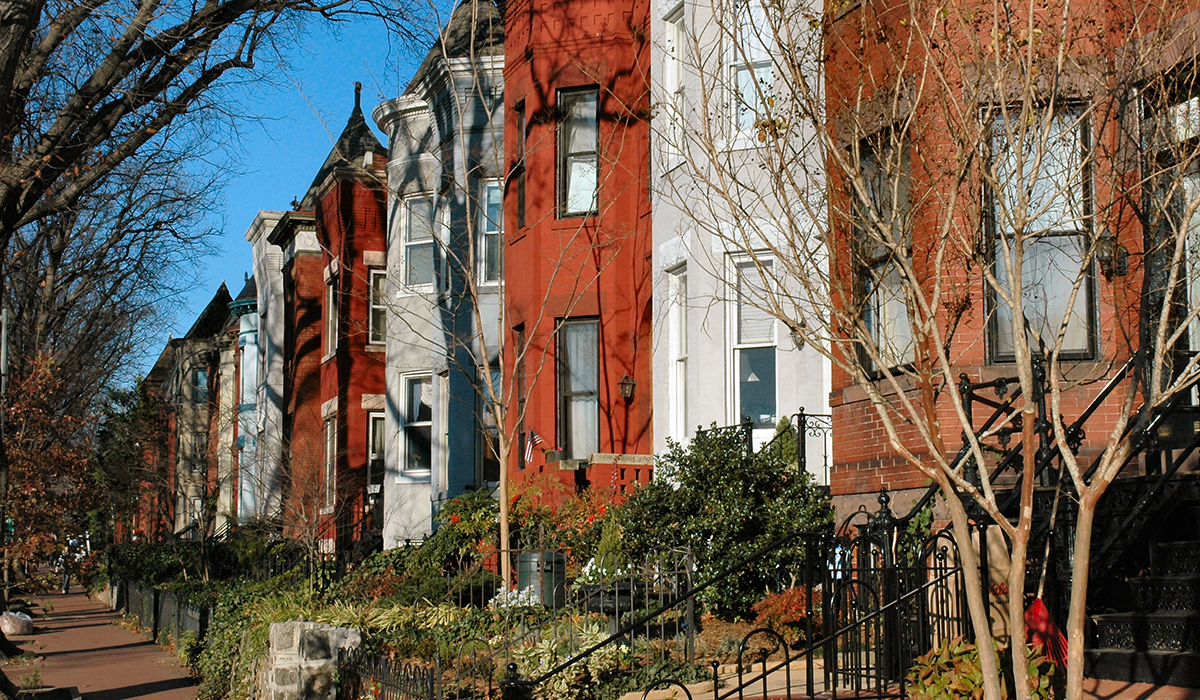 Capitol Hill Rowhouses / Townhouses In DC