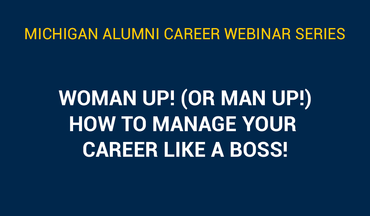 How To Manage Your Career Like A Boss