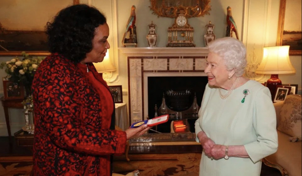 Lorna Goodison And Queen Elizabeth