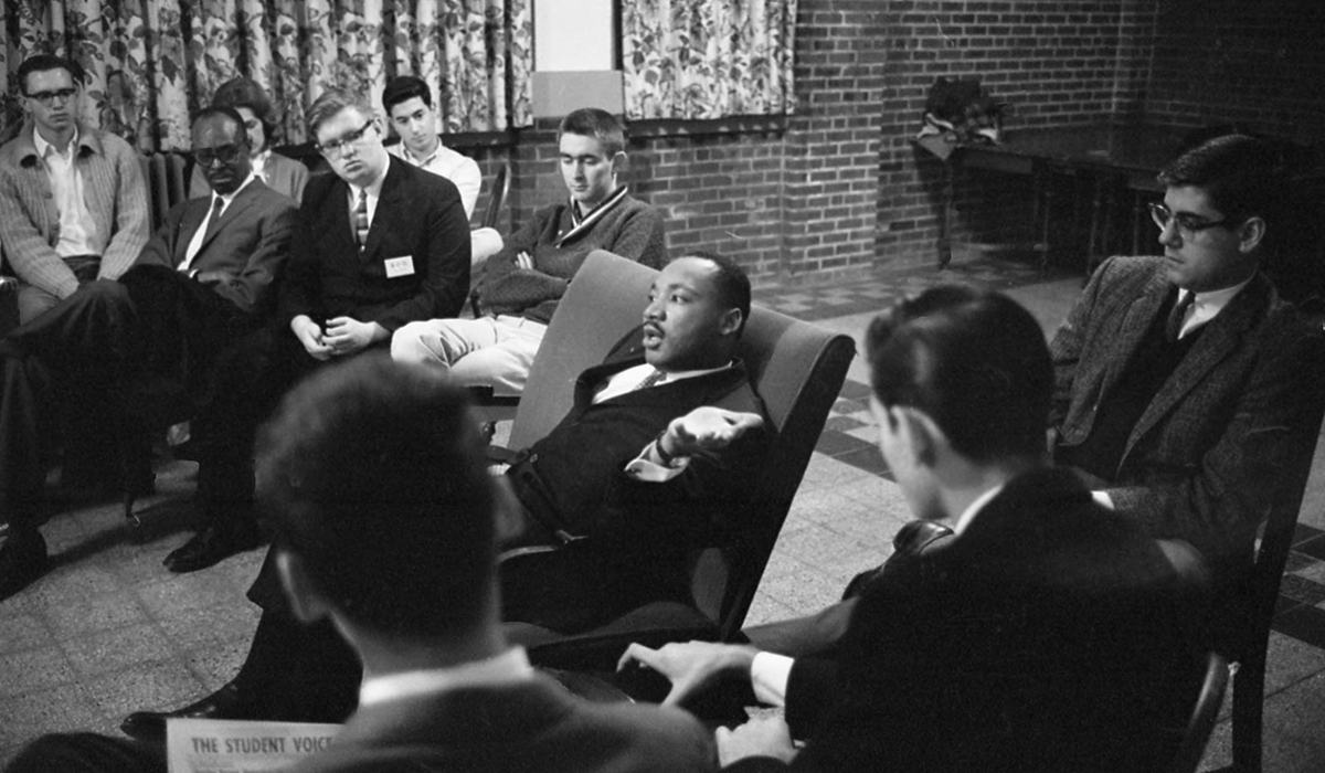 Martin Luther King, Student Lounge, November 5, 1962