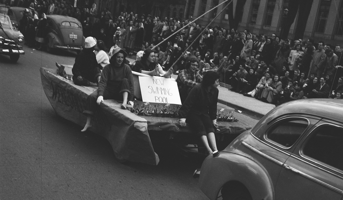 Michigras Parade in 1950