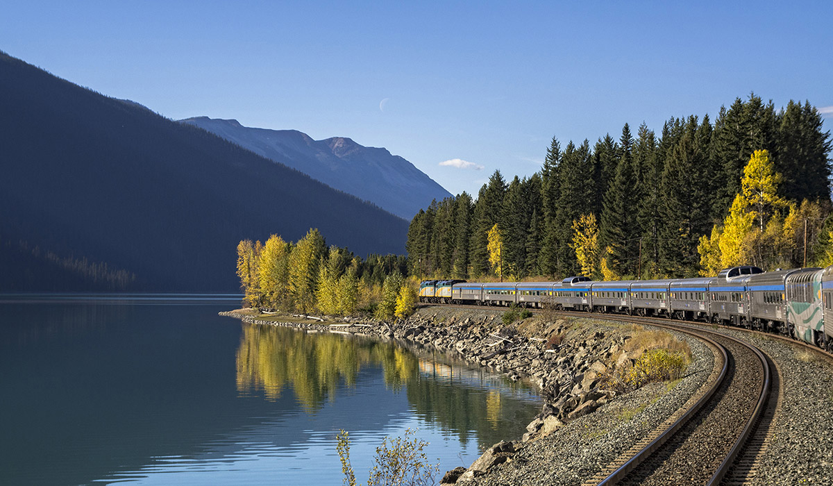 Toronto To Vancouver By Rail