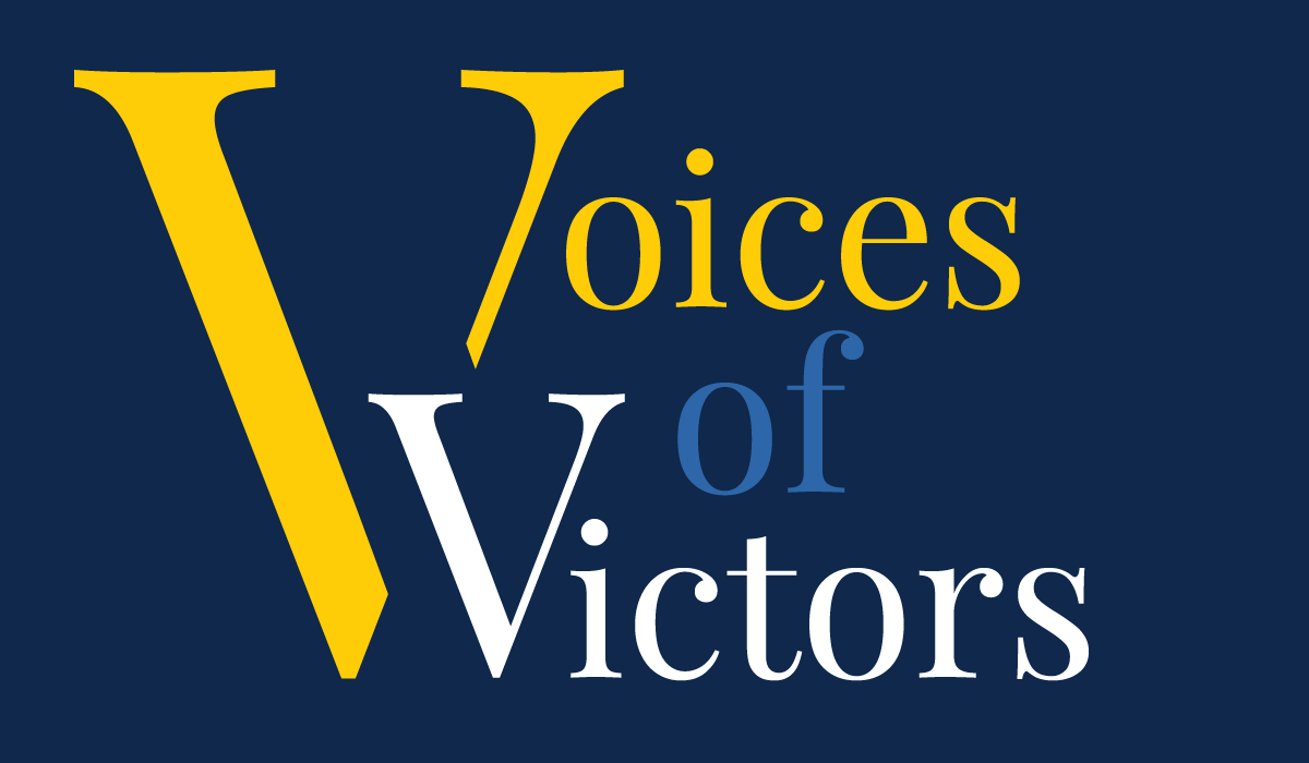Voices Of Victors Podcast Cover Art