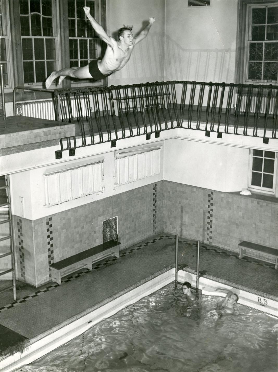 … and recreation. What good is a second floor above the water if you can't dive from it?