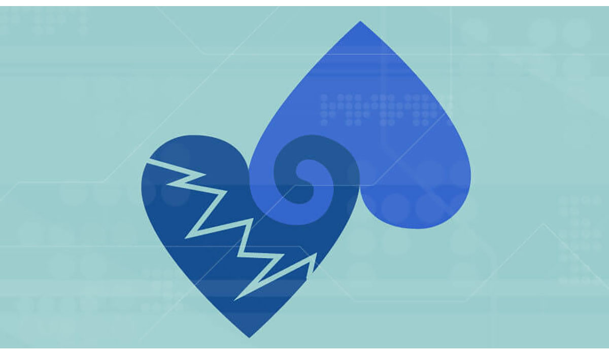 Blue Hearts Connected From Top Gatewayextension