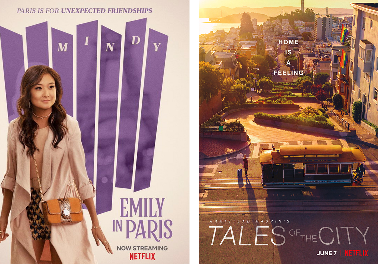 Emily in Paris Tales of the City Posters