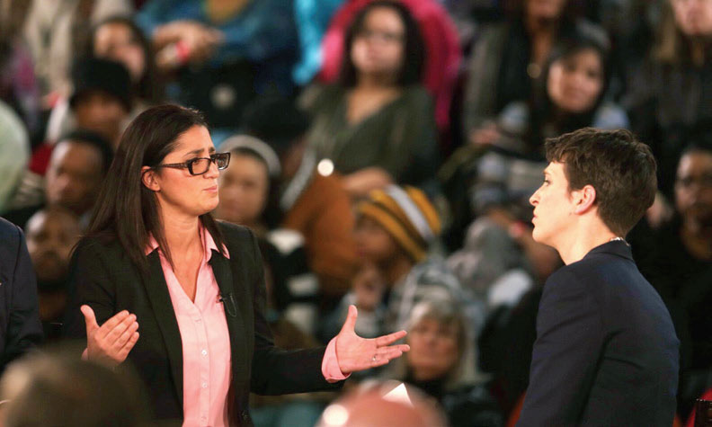 "Hanna-Attisha appeared on ""The Rachel Maddow Show"" as part of a town hall on the Flint water crisis."