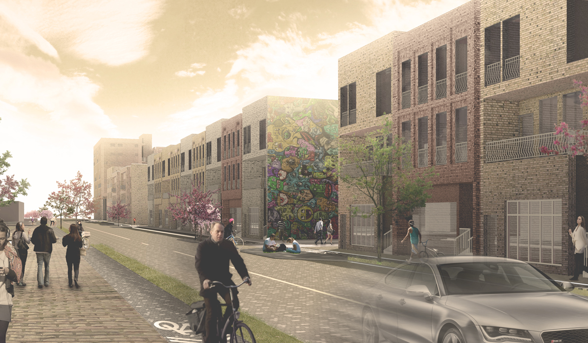Student project for Northwest Detroit by Corey Blaskie, Adrian Bonnin, and Frank Gibase