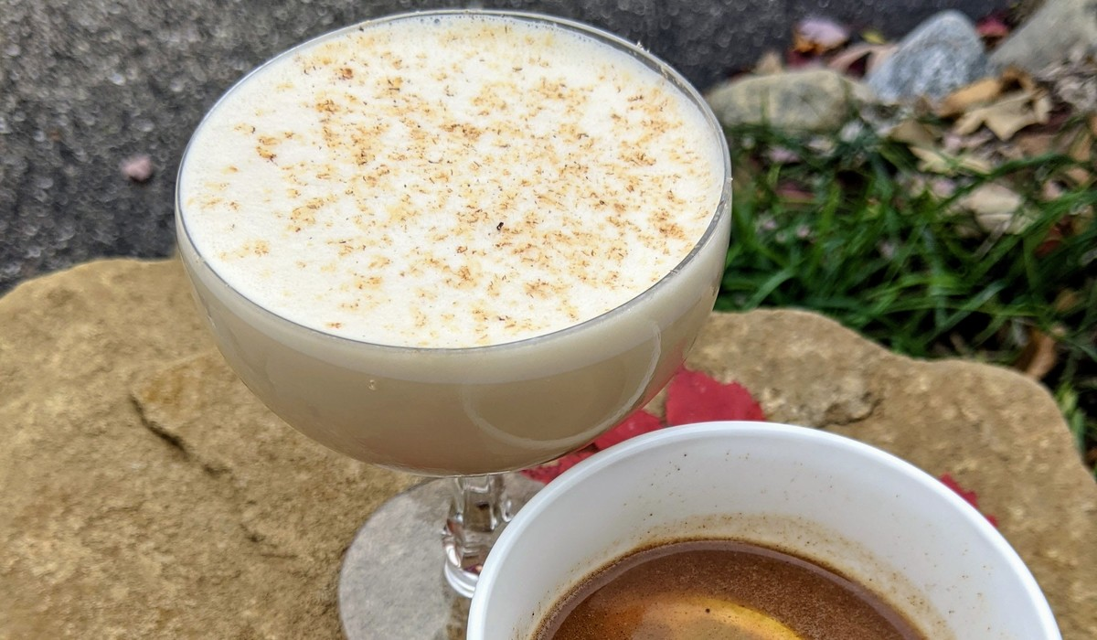 Hot Toddy And Egg Nog Flip
