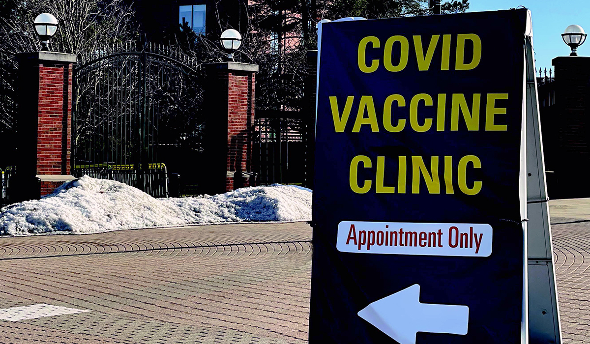 COVID Vaccine Clinic at Michigan Stadium